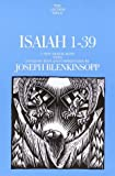 img - for Isaiah 1-39: A New Translation with Introduction and Commentary (Anchor Yale Bible Commentaries) book / textbook / text book
