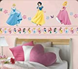 Disney Princesses - Peel&Stick - 33 Wall Stickers / Wallies