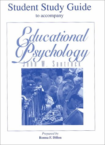 Educational Psychology, Student Study Guide