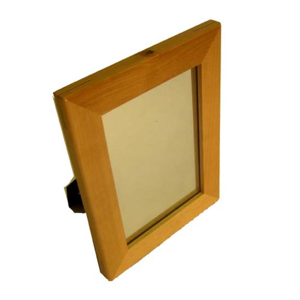 26 California Wholesale Mirr-502864-4 Wood Mirror 5x7