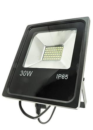 GIGRA LINE FLB30/830 - Proyector LED blanco frío 3000 K 30 W negro ...