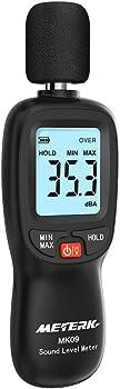 Meterk LCD Digital Sound Level Meter