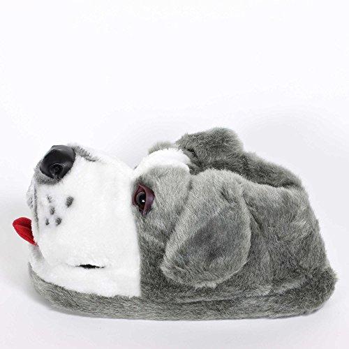 Sleeper'z – Schäferhund – Lustig Plüsch Tierhausschuhe – Erwachsene und Kinder – Herren und Damen