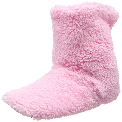 Eaze Pale Pink Fleece, Zapatillas de Estar por Casa para Mujer Rosa - rosa (rosa)