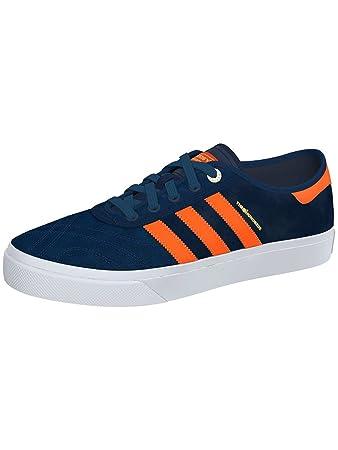 Adidas x centinaia dga alleviare le scarpe marina solare bianco - arancioni uk 9