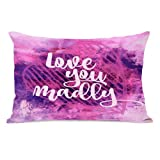 Latitude Run Derrick Love You Madly Lumbar Pillow