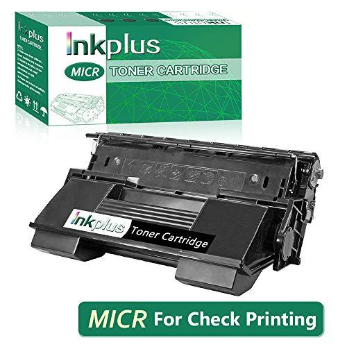 InkPlus MICR Toner Cartridge Compatible for Xerox Phaser 4510DT Printer Toner Cartridge,Magnetic Toner Cartridge for Check Printing