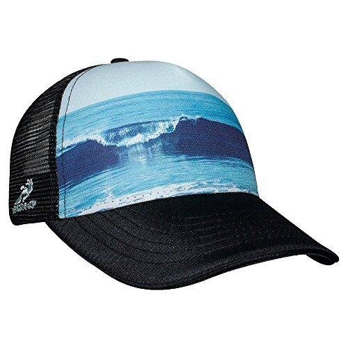 Headsweats Running Hat - Headsweats Vitamin Sea 5 Panel Trucker Hat, Black, One Size