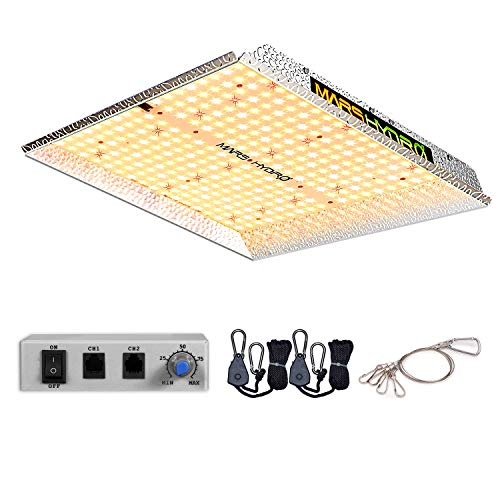 MARS HYDRO TS 1000W Led Grow Light 3x3ft Daisy Chain Dimmable Full Spectrum LED Growing Lights for Indoor Plants…
