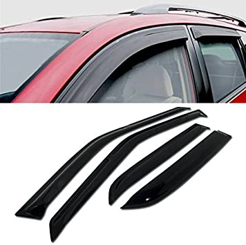 Fit 1990-1993 Honda Accord Sedan window visor shade vent wind rain deflector