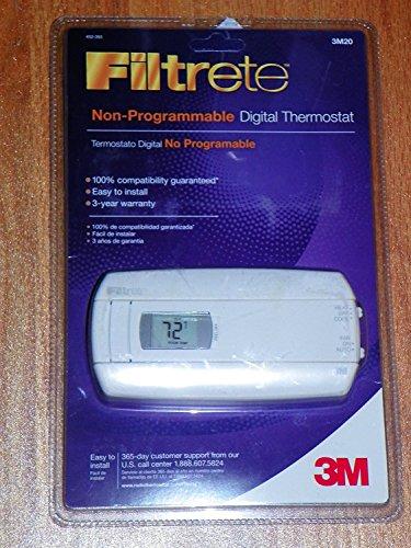 Filtrete 3M20 non-programmable Digital -