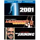 Stanley Kubrick Triple Feature (2001: A Space Odyssey / A Clockwork Orange / The Shining) [Blu-ray]