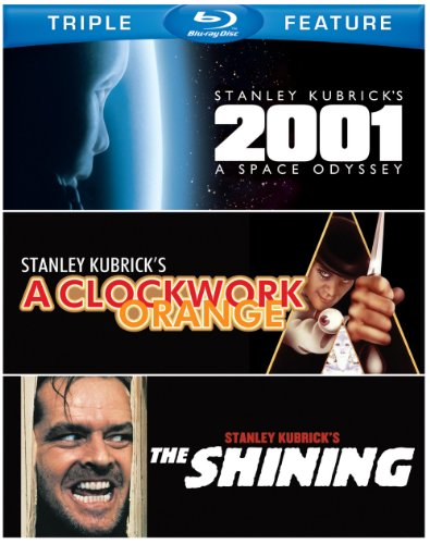 Blu-ray : 2001: A Space Odyssey / A Clockwork Orange / The Shining (3 Disc)