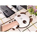 haplife マウスパッド USB加熱タイプ 手を防寒対策 冷え性に対応 省エネ 省電力 ホットマウスパッド USBハンドウォーマー 防寒グッズ 加熱パッドマウス 可愛い おしゃれ (ブラウン)