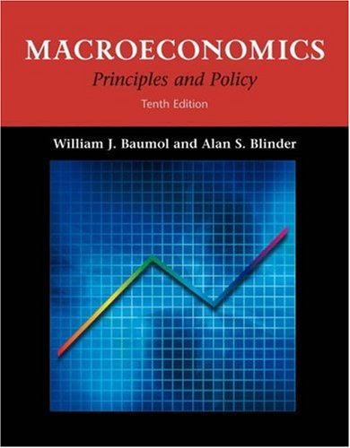 Macroeconomics: Principles and Policy (with InfoTrac)