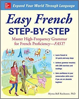 amazon easy french step by step myrna bell rochester words