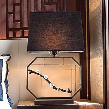 Yetta Home Lampe de Table Chambre Chinoise Moderne Lampe de ...