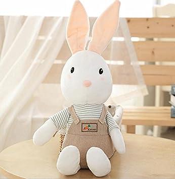 YOIL Lindo y Encantador Juguete Suave Peluches Peluches Baberos Conejo Peluche Baberos Conejo Animales de Peluche