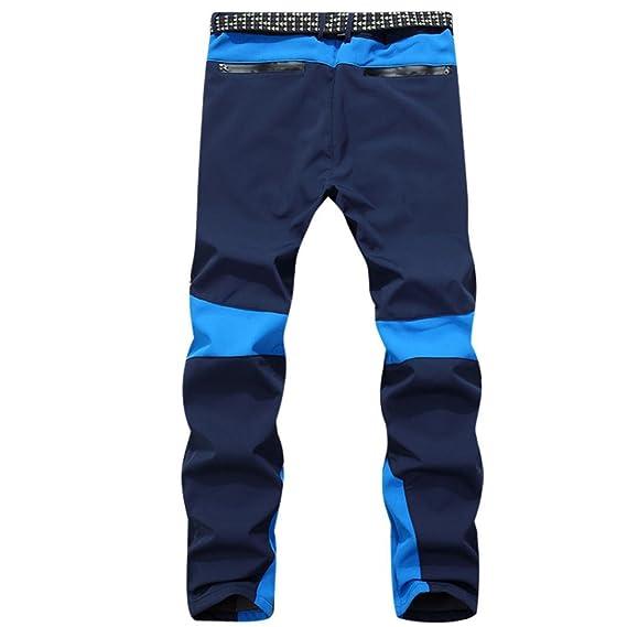 4d8744c29fe35 Coloré Pantalons de Sport Jeans Homme Pantalon Slim (TM) Hommes imperméable  à l
