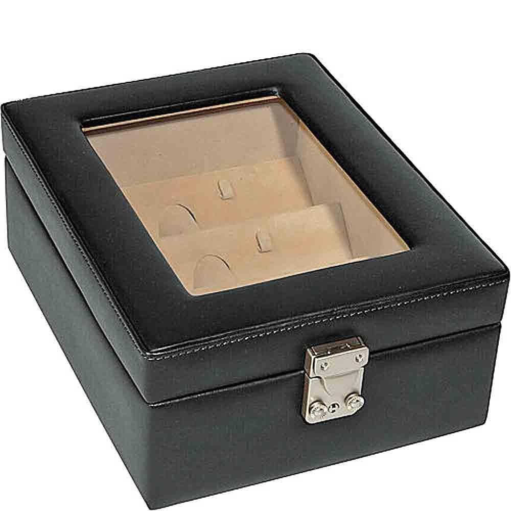 Royce Leather Eyeglass Box - 4 Slots