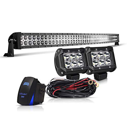 Curved LED Light Bar KEENAXIS DOT 52