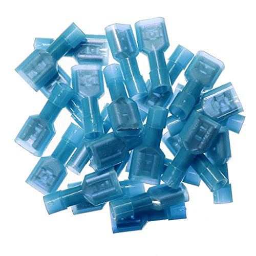 Yueton 100pcs Insulated Terminal Connectors