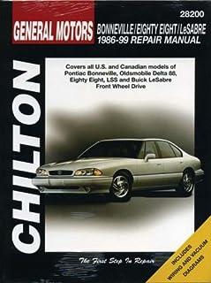 chilton s general motors buick oldsmobile pontiac fwd 1985 05 rh amazon com 1998 pontiac bonneville owner's manual 1995 Pontiac Bonneville