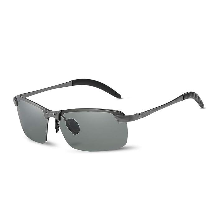 LumiSyne Gafas de sol hombre fotocromáticas, Gafas de ...