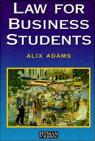 LAW FOR BUSINESS STUDENTS DOWNLOAD