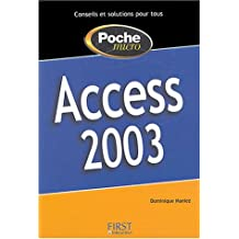 Access 2003 -poche micro