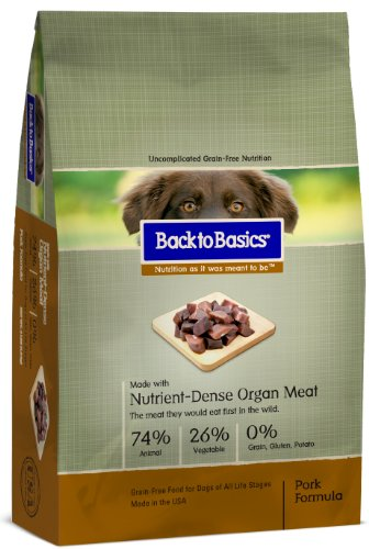 Back To Basics Instinct Pork Dry Dog Food 27Lb