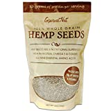 Hemp Seeds, 100% Whole Grain, 12 Oz Resealable Bag, High Protein & Amino Acids (10 grams of Protein per serving), Gourmet Nut Seeds