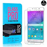 Galaxy A7 2016 Tempered Glass Screen Protector, Bear Village® 9H Scratch Resistant HD Screen Protector Film for Samsung Galaxy A7 2016-1 PACK