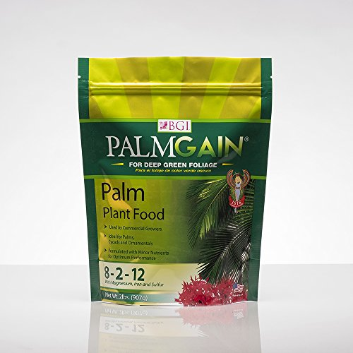 PALMGAIN 2lb Bag, Palm Tree Fertilizer, Ferns, Cycads, Ixora