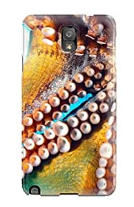 New Style CharlesRaymondBaylor Hard Case Cover For Galaxy Note 3- Octopus