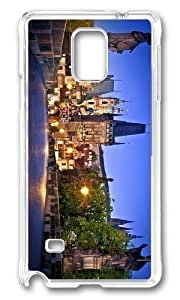 Adorable charles bridge prague Hard Case Protective Shell Cell Phone Case For iphone 6 plus Cover - PC Transparent