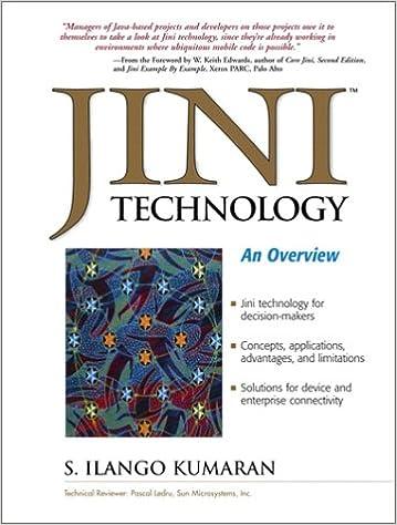An Overview Jini Technology