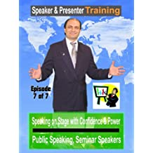 Public Speaking, Seminar Speakers Speaking on Stage with Confidence & Power #7