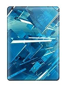 lintao diy CReHjaE7772ZlEPP Tpu Case Skin Protector For Ipad Air 3d Abstract Art Tutorial With Nice Appearance