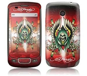 MusicSkins, MS-EDHY120248, Ed Hardy - Winged Ghost , LG Optimus T (P509), Skin