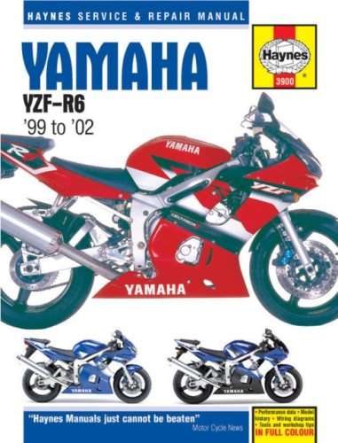yamaha r6 service manual - 4