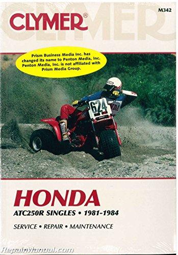 M342 Honda ATC 250R 1981 1982 1983 1984 Clymer Repair - 1983 Atc Honda