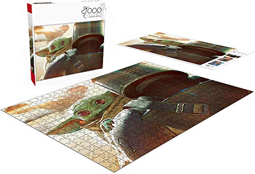 Puzzles for Adults 1000 Piece, Baby Yoda Jigsaw Puzzle The Mandalorian Puzzles for Adults