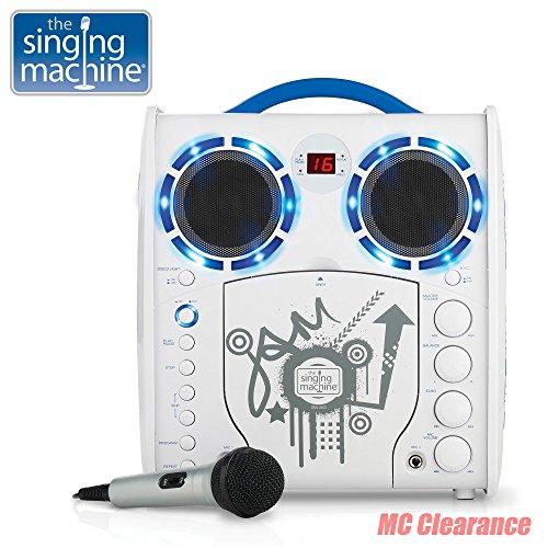 Portable Karaoke CD/CDG Player Singing Machine SML-383YB Limited Edition, Youth Blue ()