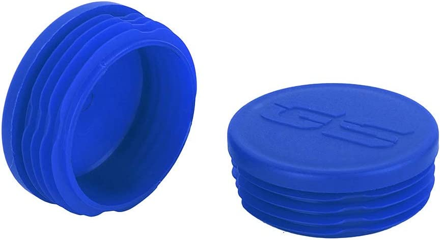 Blue Frame Plug Kit Crash Bar End Caps Decorative Cover Set for R1200GS LC 2013-2016