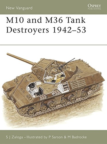 M10 and M36 Tank Destroyers 1942–53 (New Vanguard)