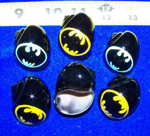 (Hand Painted Hermit Crab Shells Growth Shell - BATMAN (Limited Edition))
