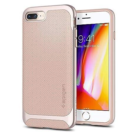 new concept 31d9b 01f95 Spigen Neo Hybrid Herringbone iPhone 8 Plus Case: Amazon.co.uk ...