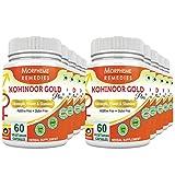 Morpheme Kohinoor Gold Plus 500mg Extracts 60 Veg Caps (Pack Of 10)