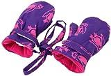 Back From Bali Baby Girls Fleece Mittens Purple